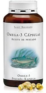Omega-3 500mg Aceite de Pescado - 400 Cápsulas