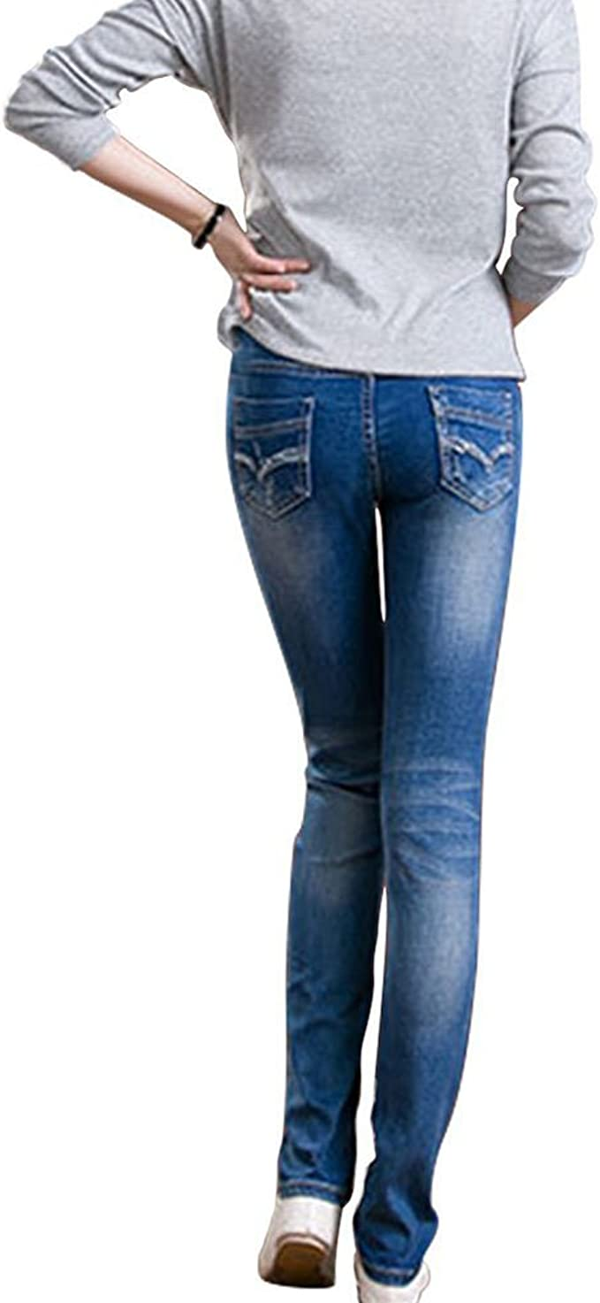 hellomiko 2018 Primavera Estate Nuove Donne Premaman Jeans girovita Regolabile Morbida Pantaloni Jeans Elastici