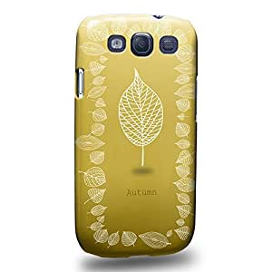 Case88 Premium Designs Art The Taste Of Autumn Protective Snap-on Hard Back Case Cover for Samsung Galaxy S3