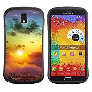 Suave TPU GEL Carcasa Funda Silicona Blando Estuche Caso de protección (para) Samsung Note 3 / CECELL Phone case / / Sunset Beautiful Nature 113 /