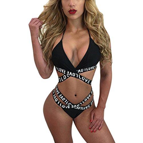 Übergröße Damen Tankini Monokini Quaste Bikini Badeanzug Bademode Badekleid Bade