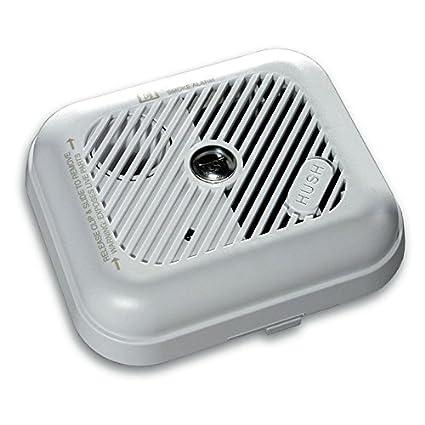 Juego de 2 x Aico EI151TL corriente ionización alarmas de humo con batería recargable de litio