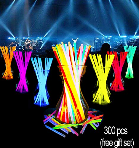 Glow Sticks Bulk-300 Count-8