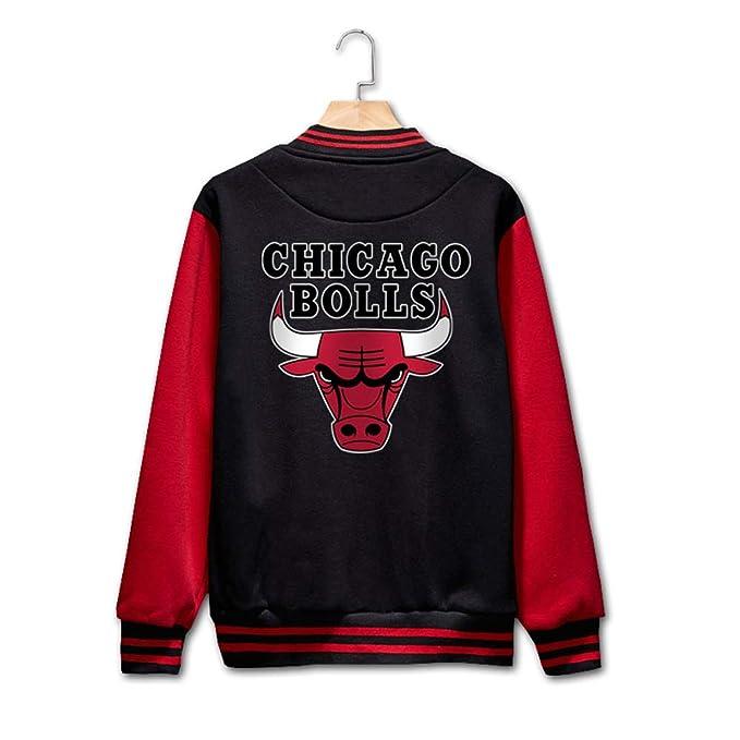 molto carino e36ee 34b82 YOHH Basketball Chicago Bulls Jordan 23 Felpa Giacca College ...