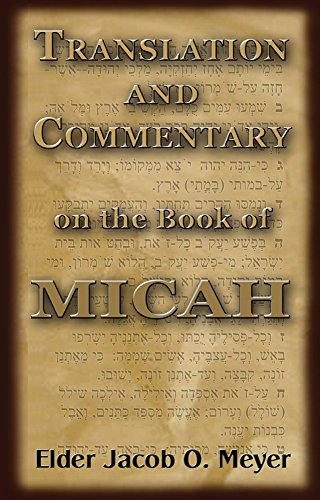 Commentary on Micah for $<!---->