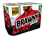 Brawny Paper Towels, Full Sheet, 6 Large Rolls