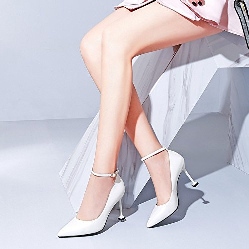 Shoes Shoes Fine White Pointed heels Jqdyl Spring Singles High Women'S Heel High Heel wFp8qIPfp