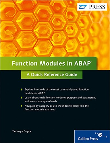 Read Online Function Modules in ABAP: A Quick Reference Guide PDF