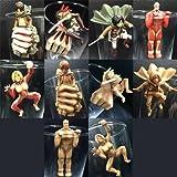Ataque A Los Titanes Columpio Llavero Titan Figura: Amazon ...
