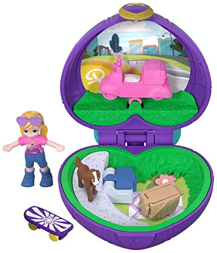 - Polly Pocket Tiny Pocket World, Polly & Peaches
