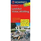 Landshut - Vilstal - Altötting: Fahrradkarte. GPS-genau. 1:70000 (KOMPASS-Fahrradkarten Deutschland, Band 3117)