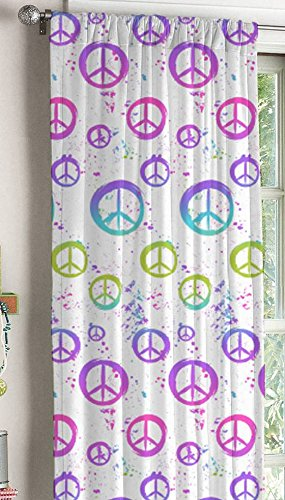Peace Window (Peace Sign Window Panel (White))