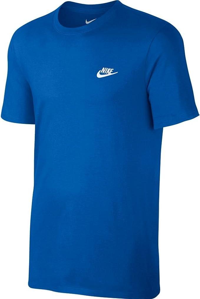 Nike M Nsw Tee Club Embrd Ftra, Camiseta de Manga Corta para ...