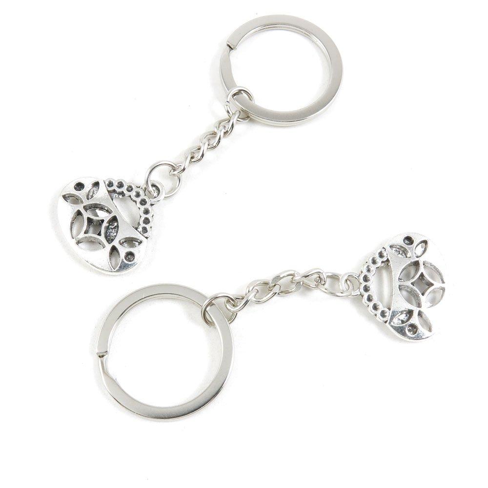 200 Pieces Fashion Jewelry Keyring Keychain Door Car Key Tag Ring Chain Supplier Supply Wholesale Bulk Lots G6RN7 Handbag Purse Shoulder Bag