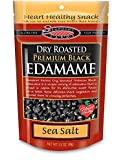 Dry Roasted Edamame Premium Black Sea Salt 3.50 Ounces (Case of 12)