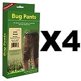 Coghlan's Bug Pants Large Black Unisex Flame Retardant Mosquito Net (4-Pack)
