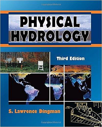 Physical Hydrology Dingman 2nd Edition Pdf
