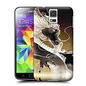 Unique Phone Case Twelve Zodiac Figure Chen Long Hard Cover for samsung galaxy s5 cases-buythecase