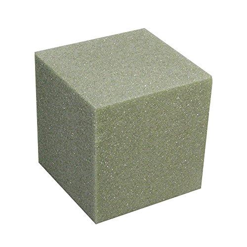 Styrofoam Block Arranger - FloraCraft Styrofoam Cube 7.9 Inch x 7.9 Inch x 7.9 Inch Green