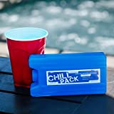 Secret Flask Looks Like an Ice Pack. Great Hidden Flask for Coolers, Discreet Flask for Work, and Disguised Festival Flask. Also a Reusable Flask and Disposable Flask (1)