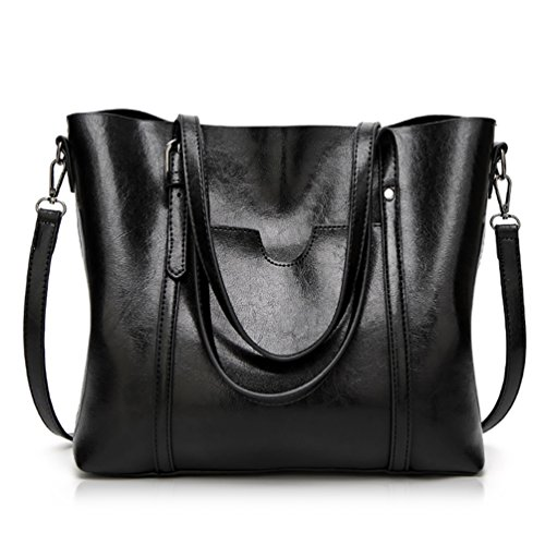 Essfeeni Top Handle Bag Shoulder Bag Satchel Handbags Tote Purse for Women  Lady. by essfeeni. Color  Black. product-variation. product-variation 3cf0d9b536e5a