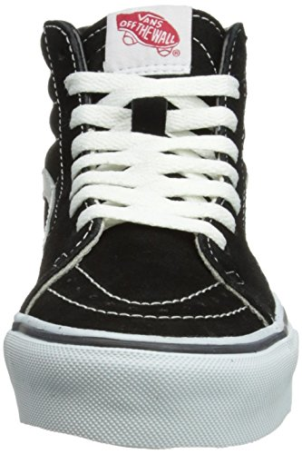 Vans Unisex Sk8-hi True Bianco Vn000d5iw00 Scarpa Da Skate Nero / Bianco