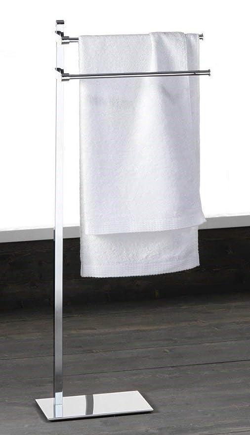 Toallero de pie Perchero portatoallas acero porta toallas baños ropero