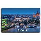 Budapest, Hungary, fridge magnets