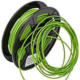 【3DIY】フレキシブル 緑色 FLEX (1.75mm) 弾性曲がりやすい(Flexible) 3Dプリンター用 Makerbot/Reprap/UP/Ultimaker/MUTOHなど