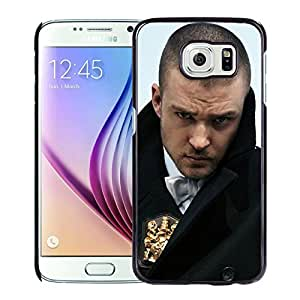 Beautiful Designed Cover Case With Justin Timberlake Coat Bristle Look Badge For Samsung Galaxy S6 Phone Case