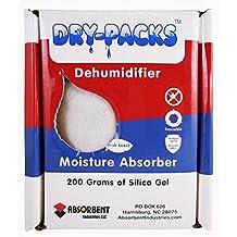 Dry-Packs 200gm Silica Gel Dehumidifying Box-Protects 15 Cubic Feet