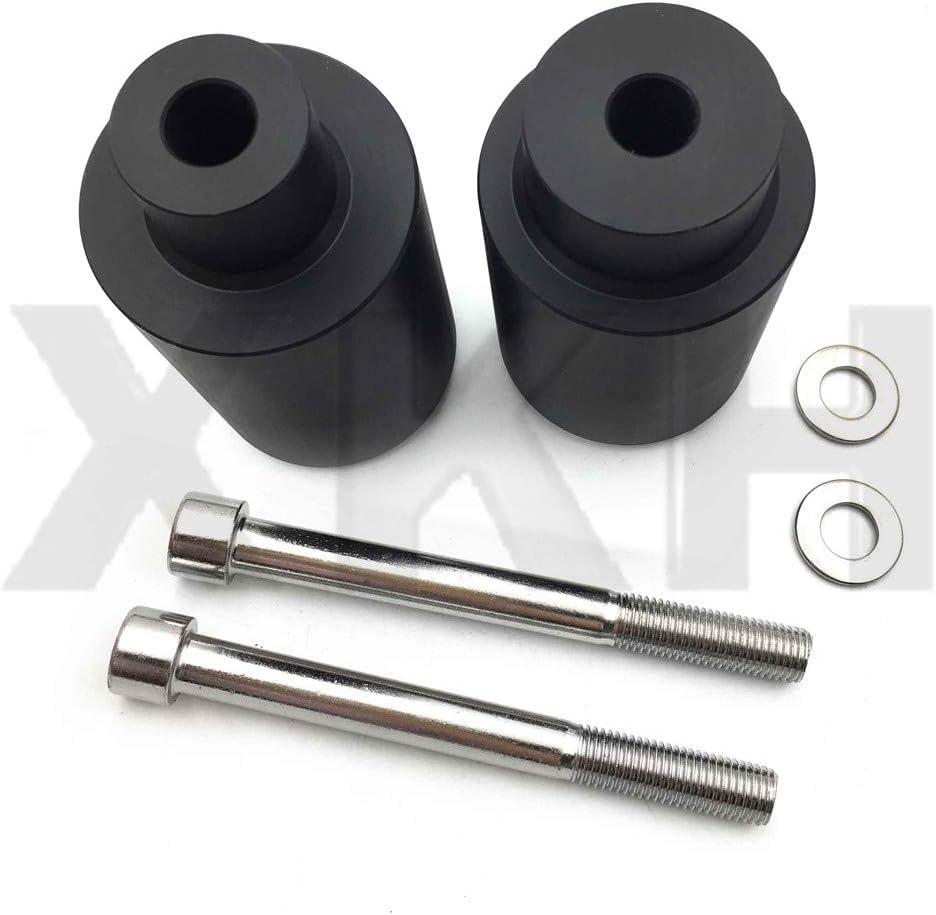 XKMT-Black Frame Slider Crash Protector Compatible With 1999 2000 2001 2002-2006 Honda Cbr 600 F4 F4I B019DKH80M