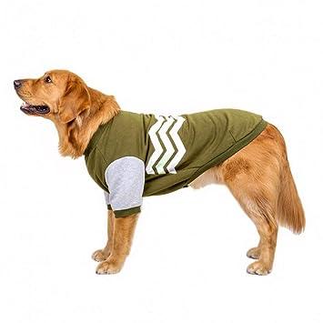 CWYPWDY Ropa para Mascotas Ropa para Perros Grandes Golf ...