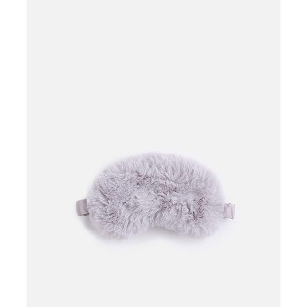 Schlafbrille, Keine Augäpfel, Ideal Zum Schlafen Und Reisen Verstellbare Schultergurte Komfortable Weiche Brille Waschbar (Hellgrau)