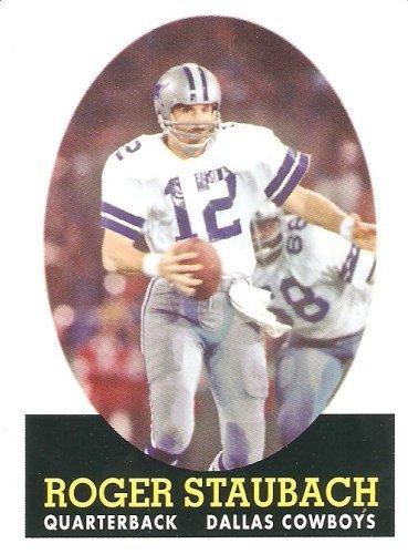 - 2007 Topps Turn Back The Clock # 21 Roger Staubach - Dallas Cowboys - NFL Football Card