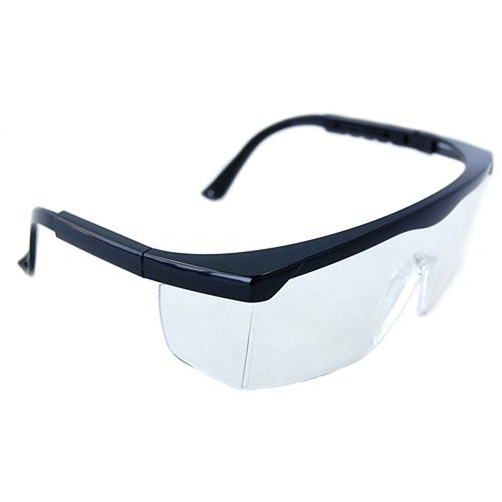 62454876adb HQRP Clear Tint UV Protective Safety Glasses Goggles for Lab Chemistry  courses Science class in School High School College Laboratory + HQRP UV  Meter ...