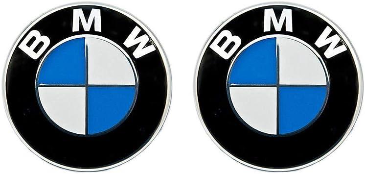 82mm 74mm Emblemas Emblema Badges Emblems Logo Delantero Cap/ó y Maletero Port/ón Trasero Repuesto para BM W