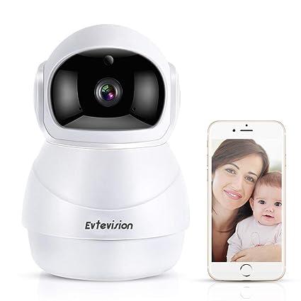 Evtevision 1080P Cámara IP WIFI, HD Camaras de Vigilancia inalámbrico, Nube / P2P,