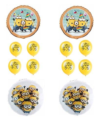 [Despicable Me Minions Balloon Decorating Kit] (Despicable Me Minion Hats)
