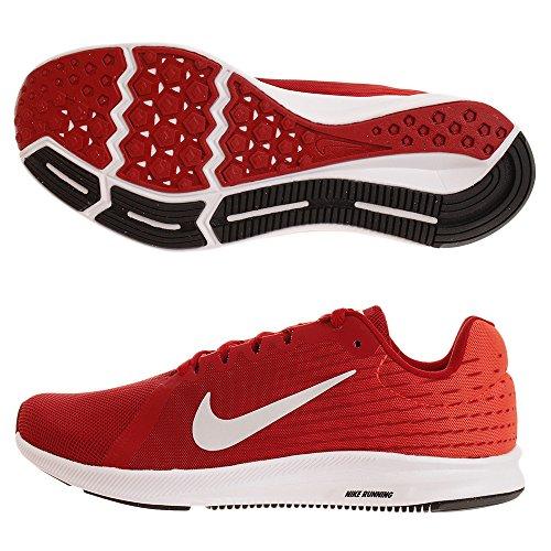 Nike Downshifter 8, Chaussures de Running Homme, Gris, EU Multicolore (Gym Red/Vast Grey-bright Crimson-black 601)