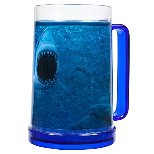 JUST FUNKY Shark Attack 16oz Frosty Beer ()