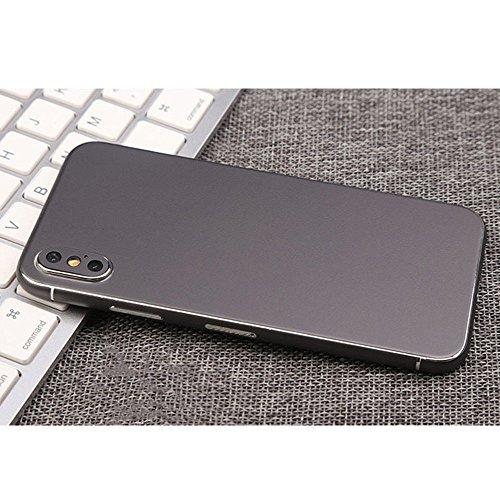 For iPhone X Luxury Film Wrap Decals Sticker Back Case Cover Skins (Dark - Malls Pheonix