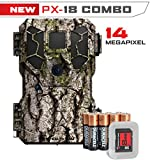 Stealth Cam Px18 FX Scouting 8mp Combo Kit Tree Bark Hunting Game Cameras