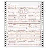 CMS-1500 Form,2 Part Continuous,8-1/2 quot;x11 quot;,1500 Sets/CT