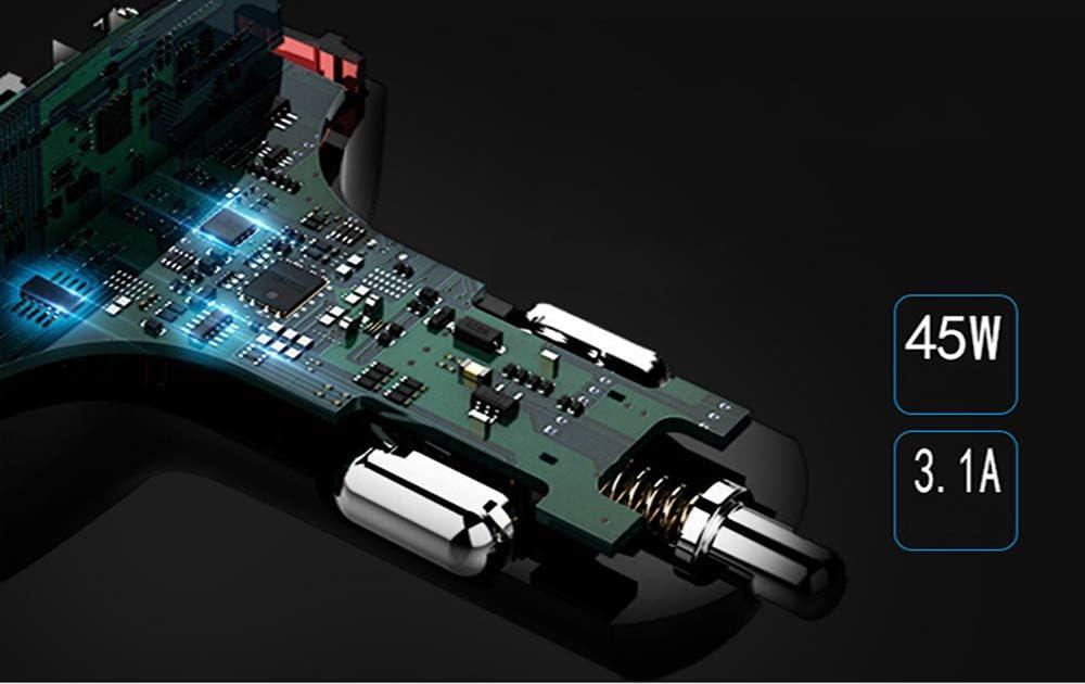 Display Digitale per Auto Barra per Ossigeno Accendisigari A Ioni Negativi Purificatore dAria per Auto Umidificazione Atomizzazione,Nero YDZS Purificatore Caricabatterie per Telefono Cellulare