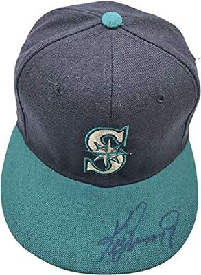 Ken Griffey Jr Signed Autographed Seattle Mariners Hat JSA