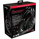 HyperX Cloud Revolver S Gaming Headset with Dolby 7.1 Surround Sound - Steel Frame - Signature Memory Foam - Premium Leatherette - Works with PC, PS4, PS4 PRO, Xbox One, Xbox One S (HX-HSCRS-GM/NA)