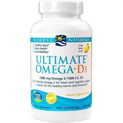 Nordic Naturals Ultimate Omega D3 Supports