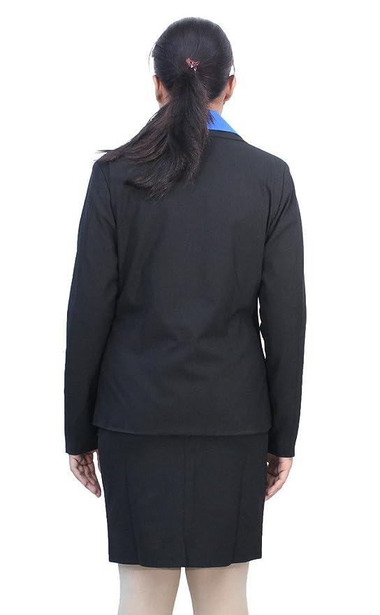 Amazon.com: Romano Womens Classy Black Formal Blazer with ...