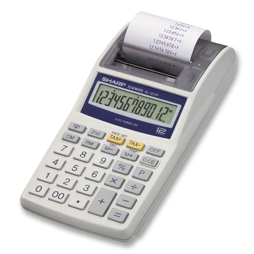 Sharp Electronics EL1611PA Printing Calculator